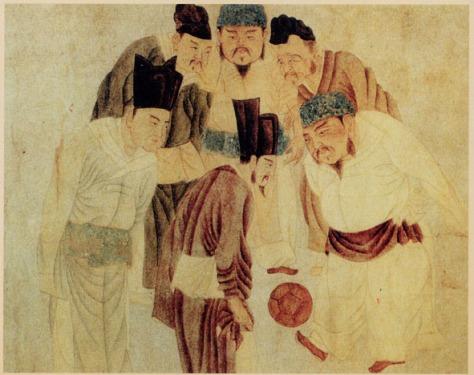 Emperor_Taizu_play_Cuju